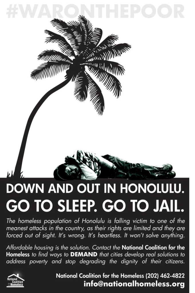HONOLULU-CRIMINALIZATION