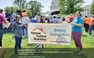 Megan and Annie at May 14 Poor People's Campaign Rally by @Fightfor15