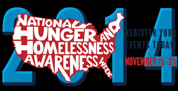 National Hunger and Homelessness Awareness Week 2014